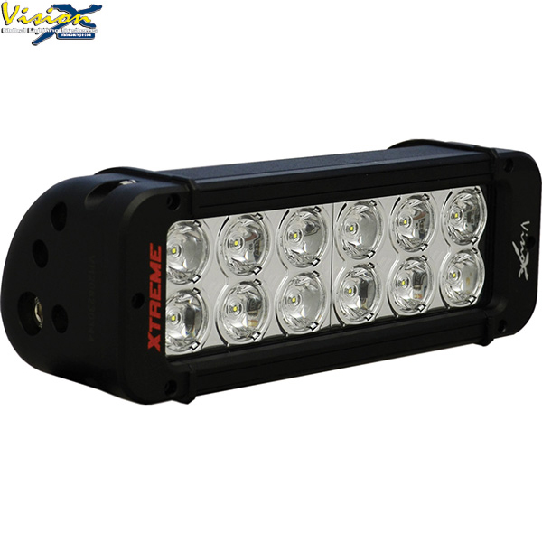 LED panel X-VISION 201mm 12xLED 60W OFFROAD
