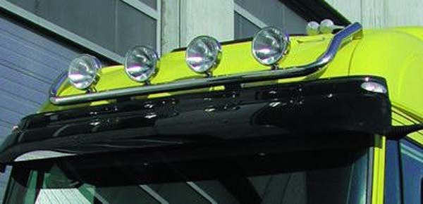 Lamp holder for roof, fi 60 mm, polished IVECO Stralis(AS)