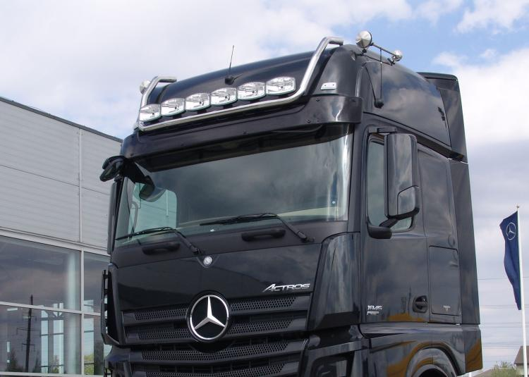 LH, roof, 6 lampmount. with cable MB Actros 11-(GIGA)
