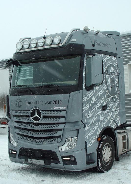 LH, roof, 6 lampmount. with cable MB Actros 11-(BIG)